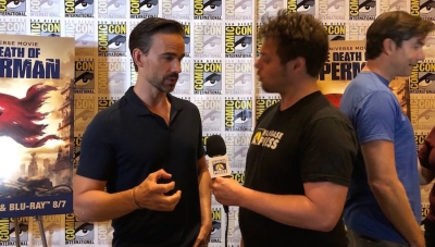 SDCC 2018: Fanbase Press Interviews Christopher Gorham on The Flash and 'The Death of Superman'