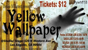 Fanbase Press Interviews Denise Barrett on 'Yellow Wallpaper' (Hollywood Fringe 2018)