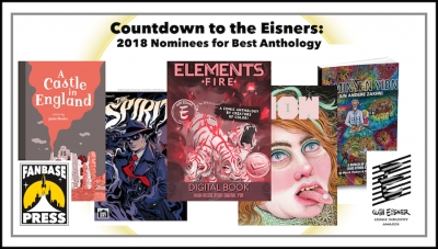 Countdown to the Eisners: 2018 Nominees for Best Anthology