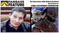 Fanbase Feature: An Interview with Voice-Over Actor Robert Axelrod on Comic Excitement Convention