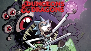 'Rick & Morty vs. Dungeons & Dragons #1:' Advance Comic Book Review