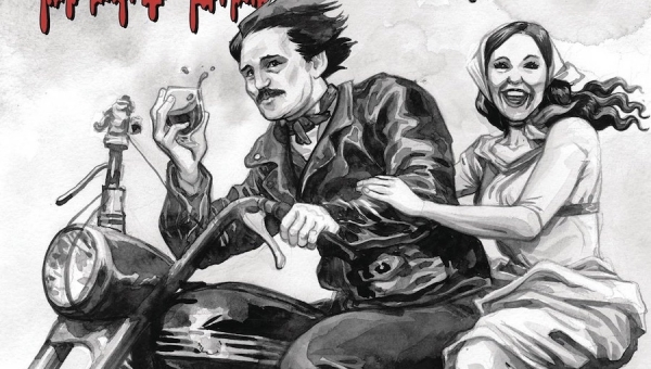 Fanbase Press Interviews AHOY Comics' Tom Peyer on the Release of 'Edgar Allen Poe's Snifter of Blood' and More