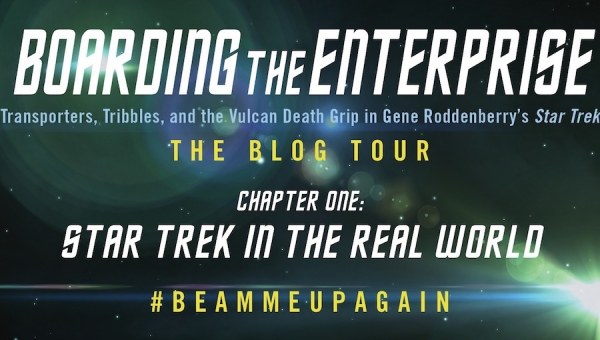 Preview the Anniversary Edition of 'Boarding the Enterprise' and Enter to Win a Copy of the Book! - WINNERS ANNOUNCED