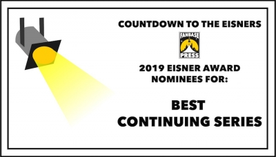 Countdown to the Eisners: 2019 Nominees for Best Continuing Series