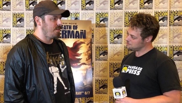 SDCC 2018: Fanbase Press Interviews Lead Character Designer Phil Bourassa on 'The Death of Superman'