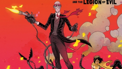 Fanbase Press Interviews David Rubin on 'Sherlock Frankenstein & the Legion of Evil' from Dark Horse Comics