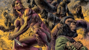 'Tarzan on the Planet of the Apes #1:' Advance Comic Review