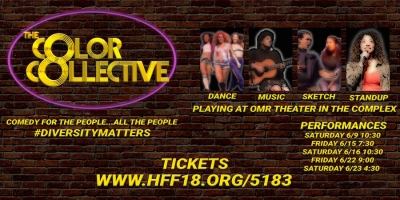 Fanbase Press Interviews Royce Shockley on 'The Color Collective' (Hollywood Fringe 2018)