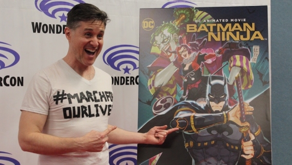WonderCon 2018: Yuri Lowenthal on What Fans Can Anticipate from 'Batman Ninja'