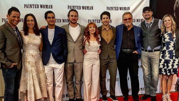 Fanbase Press Interviews James Cotten and Laurel Harris on the Film, 'Painted Woman'