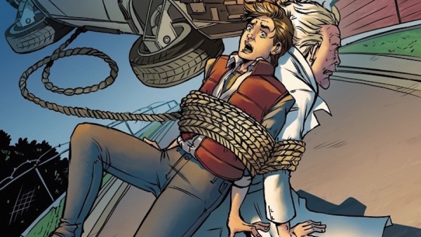 'Back to the Future #16:' Advance Comic Book Review