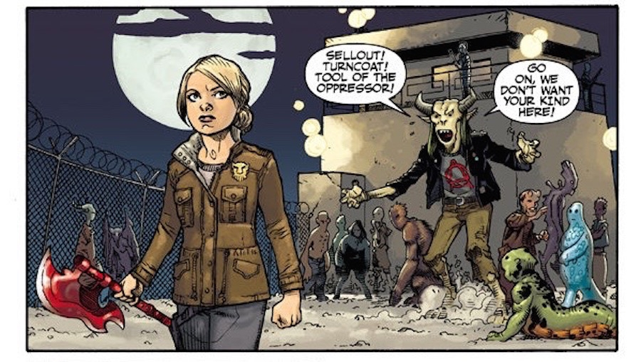 'Buffy the Vampire Slayer: Season 11 #5' - Comic Book Review (Compromised)