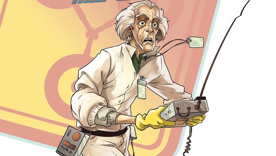 'Back to the Future #25:' Advance Comic Book Review
