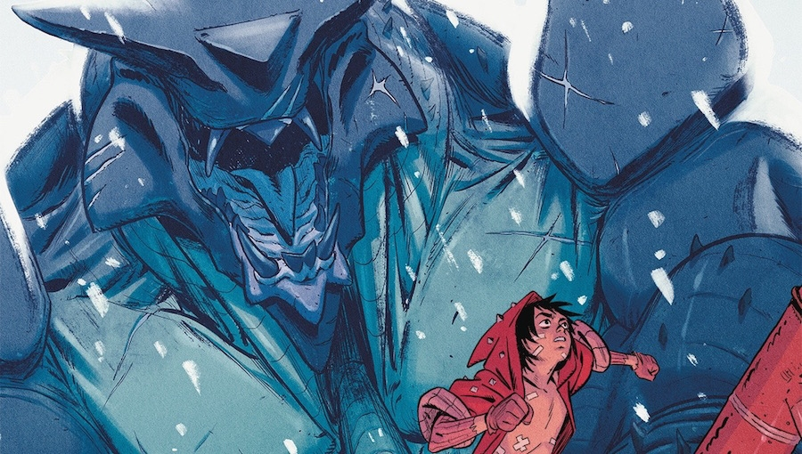 'Giants #1:' Advance Comic Book Review
