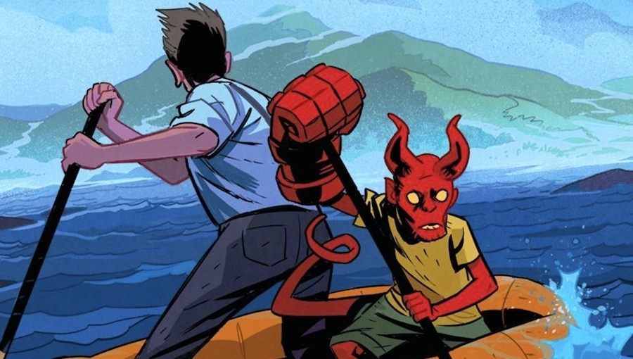 Fanbase Press Interviews Tom Sniegoski on the Launch of 'Young Hellboy: The Hidden Land' with Dark Horse Comics