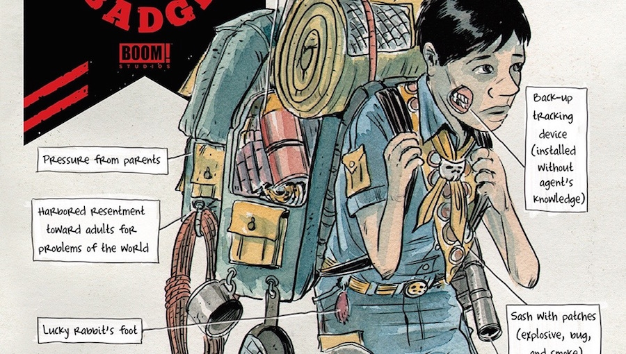 'Black Badge #3:' Advance Comic Book Review
