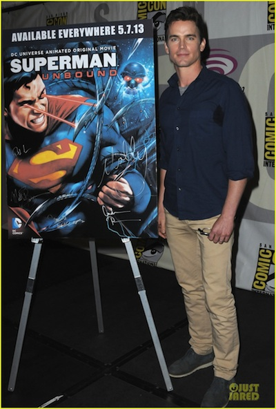 Matt Bomer Superman Unbound