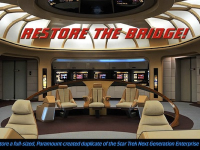 Star Trek TNG Bridge Restoration