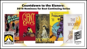 Countdown to the Eisners: 2018 Nominees for Best Continuing Series