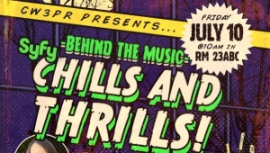 SDCC 2015: Behind the Music - SyFy Thrills and Chills - Panel Coverage