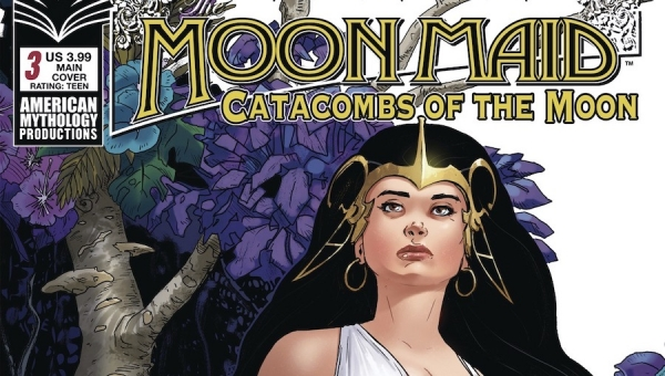 'Moon Maid: Catacombs of the Moon #3' - Comic Book Review
