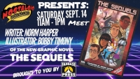 Join Fanbase Press for a Totally Tubular Signing for 'The Sequels' at Nostalgic Books and Comics