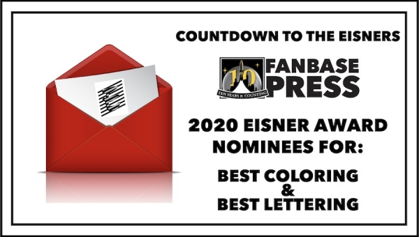 Countdown to the Eisners: 2020 Nominees for Best Coloring & Best Lettering