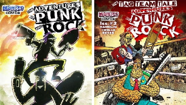 'The Adventures of Punk and Rock #1-2:' Comic Book Review
