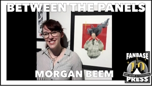 Between the Panels: Artist Morgan Beem on Waiting for Her Animal Familiar,  Finding a Spark of Confidence, and Yelling into the Void