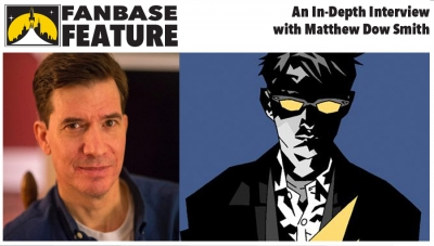 Fanbase Feature: An Interview with Matthew Dow Smith ('Doctor Who,' 'The X-Files,' 'The October Girl')