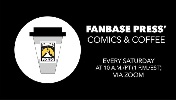 Fanbase Press Launches Virtual 'Comics & Coffee' Meetups to Bridge the Convention Gap for Industry Pros