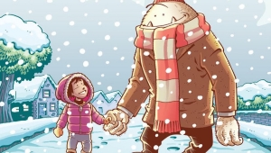 'Abigail and the Snowman:' Trade Paperback Review