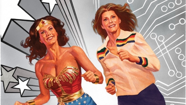 Wonder Woman Wednesday: 'Wonder Woman Meets the Bionic Woman' - Trade Paperback Review