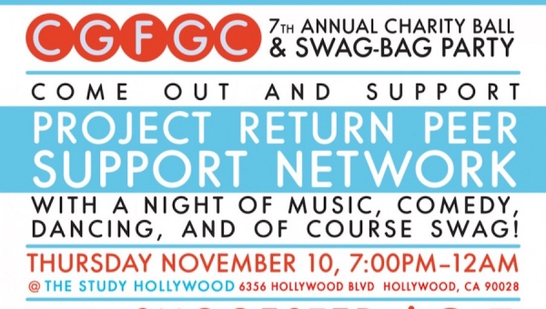 #GeeksCare: How You Can Help Project Return Peer Support Network at the CGFGC Charity Ball & Swag Bag Party