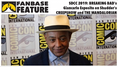 Fanbase Feature: SDCC 2019 - 'Breaking Bad's Giancarlo Esposito on Shudder's 'Creepshow' and 'The Mandalorian'