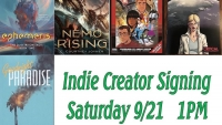Join Fanbase Press & Talented Comic Book Creators for Emerald Knights' Indie Creator Signing