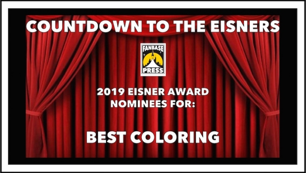 Countdown to the Eisners: 2019 Nominees for Best Coloring