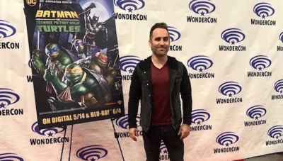 WonderCon 2019: Ben Giroux Is the Boy Wonder in 'Batman vs. TMNT'