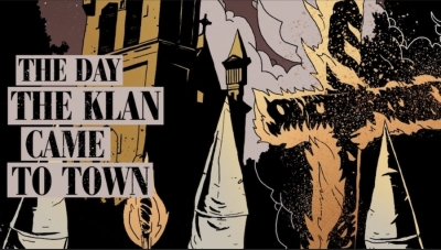 Fanbase Press Interviews Bill Campbell on Launching the Kickstarter Campaign for 'The Day the Klan Came to Town' Graphic Novel