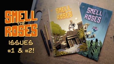 #CrowdfundingFridays: 'Smell the Roses #1-2'