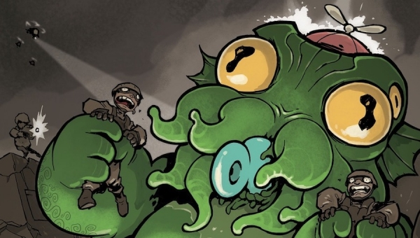 #CrowdfundingFridays: 'Cthulhu Is Hard to Spell: The Terrible Twos' and 'The Crossing'