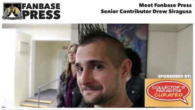 Fanbase Feature: Meet Fanbase Press Senior Contributor Drew Siragusa