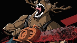 Fanbase Press Interviews Brandon Rhiness on the Upcoming Comic Book, 'Chainsaw Reindeer'