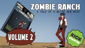 #CrowdfundingFridays: 'Zombie Ranch: Vol. Two,' 'Dry Spell: The Moonfall Machine,' and 'The Empties'