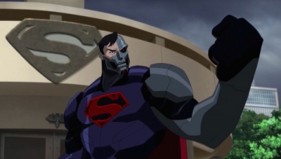 'Reign of the Supermen' Premiere: Patrick Fabian Is More Machine than Man in DC Animated's Latest
