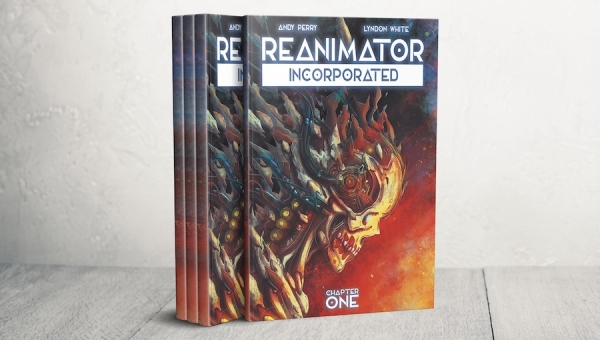 #CrowdfundingFridays: 'Reanimator Incorporated #1' and 'Moby Dick: Back from the Deep #3'