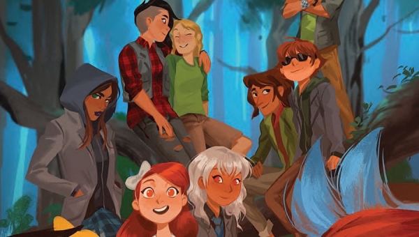 'Lumberjanes / Gotham Academy #1:' Comic Book Review