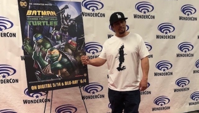 WonderCon 2019: Andrew Kishino Is The Shredder on 'Batman vs. TMNT'