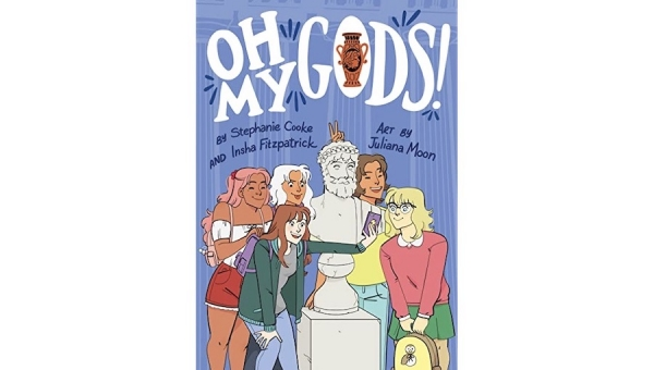Fanbase Press Interviews Stephanie Cooke on the Upcoming Release of 'Oh My Gods!' from HMH Kids