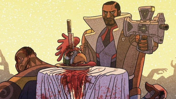 'Outer Darkness / Chew #1:' Advance Comic Book Review